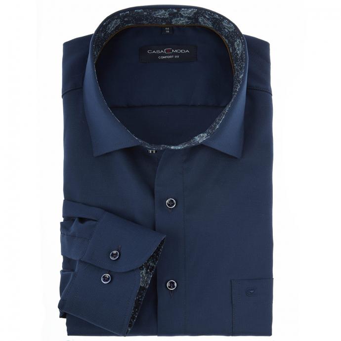 Elegantes Cityhemd dunkelblau_108 | 46