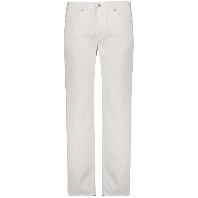 Sommerliche Baumwollhose in 5-Pocket Form weiß_10 | 29