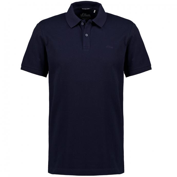 Poloshirt aus Baumwoll-Piqué. kurzarm marine_5978 | 3XL