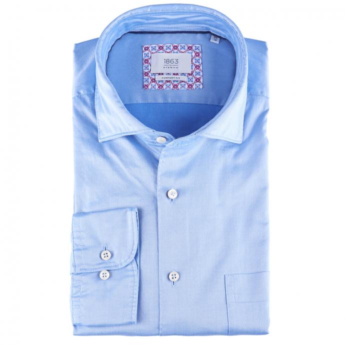 Extraweiches Businesshemd, langarm blau_13 | 46