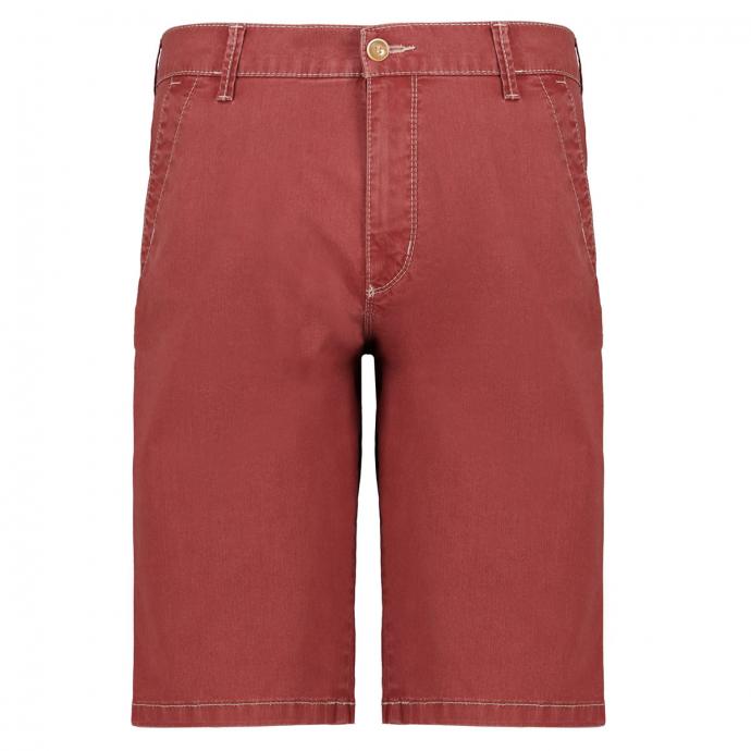 Stretch-Short mit Ziernähten rot_805 | 32