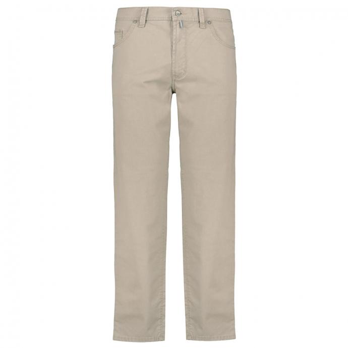 Leichte Baumwollhose in Five-Pocket-Form beige_21 | 28