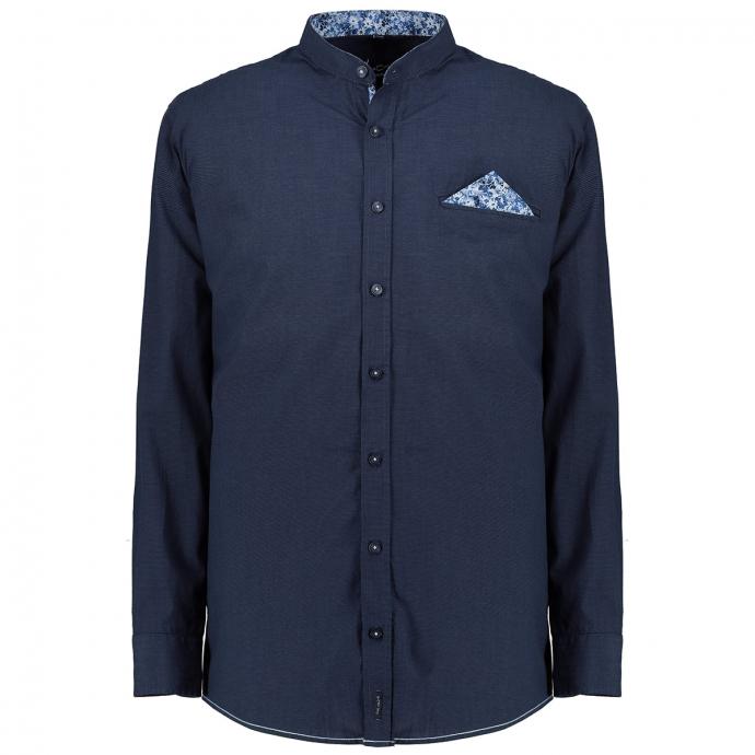 Modisches Freizeithemd dunkelblau_100/400 | XXL