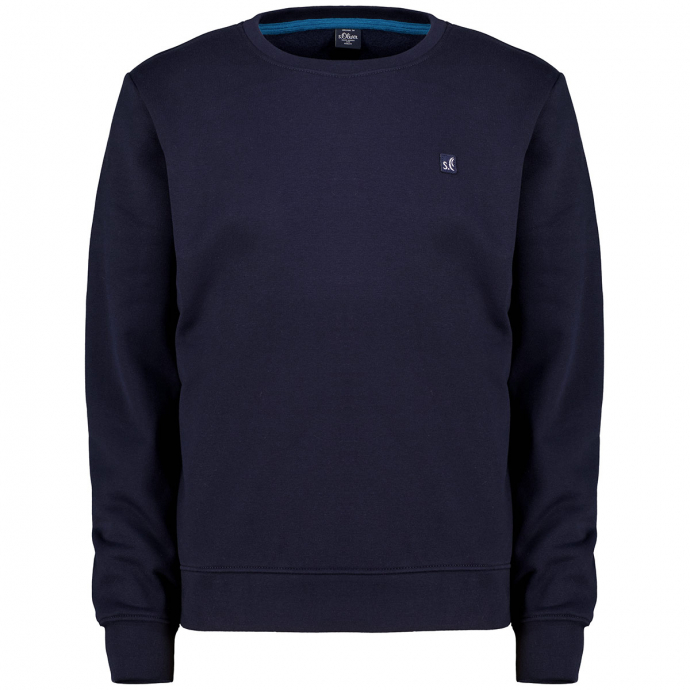 Legeres Sweatshirt, langarm marine_5978 | 3XL