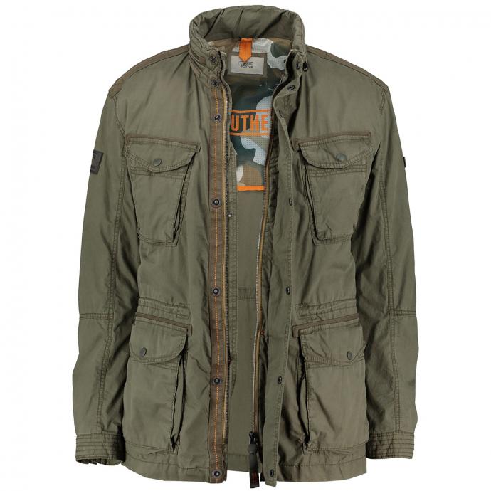 Jacke mit praktischen Taschen oliv_34 | 72