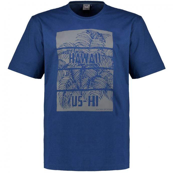 """T-Shirt mit Print """"US HAWAII"""" blau_160   3XL"""