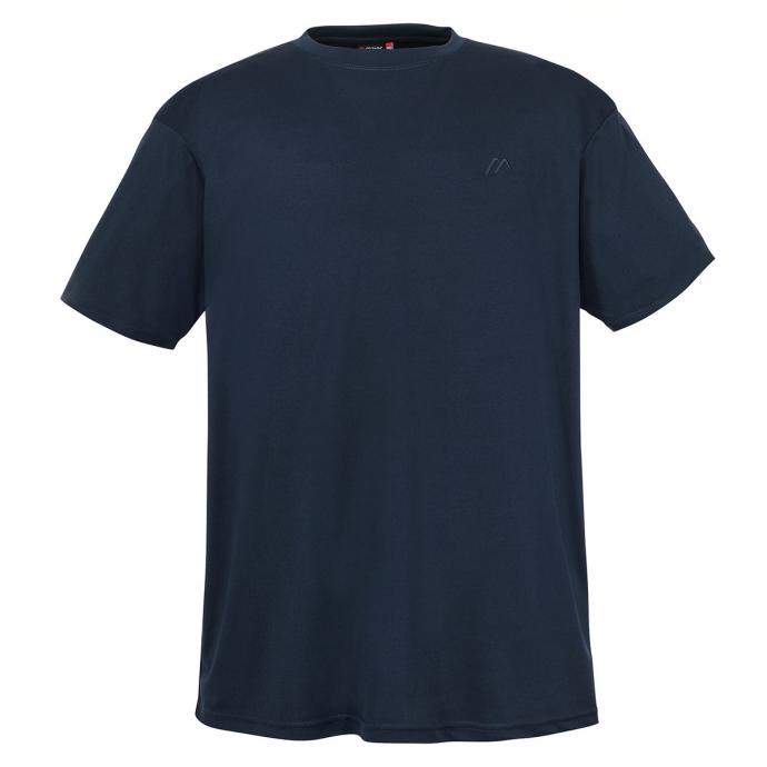 Lässiges Funktion Shirt mit Logo-Stickerei auf Brusthöhe dunkelblau_367 | 4XL