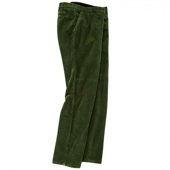 Cordhose mit Stretch-Anteil grün_83/60 | 35