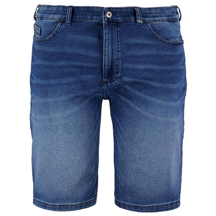 5-Pocket Jeansshort mit 4-Wege-Strech blau_43   W44