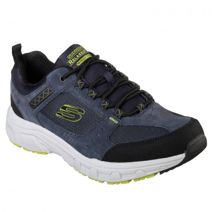 Sneaker mit Memory Foam-Ausstattung und WIDE-Leisten blau/grün_NVLM | 44
