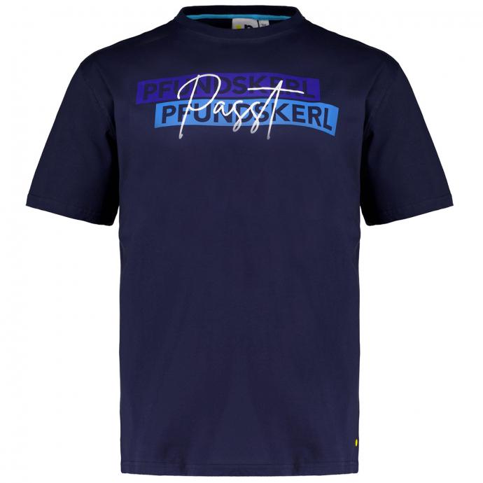 """T-Shirt mit Print """"Pfundskerl"""" dunkelblau_547   3XL"""