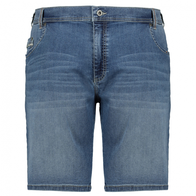 Stretch-Jeans-Short im 5-Pocket-Style blau_354 | 30