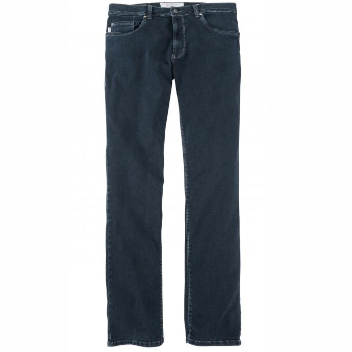 Klassische Five-Pocket-Jeans mit Stretch-Anteil dunkelblau_665/1   36