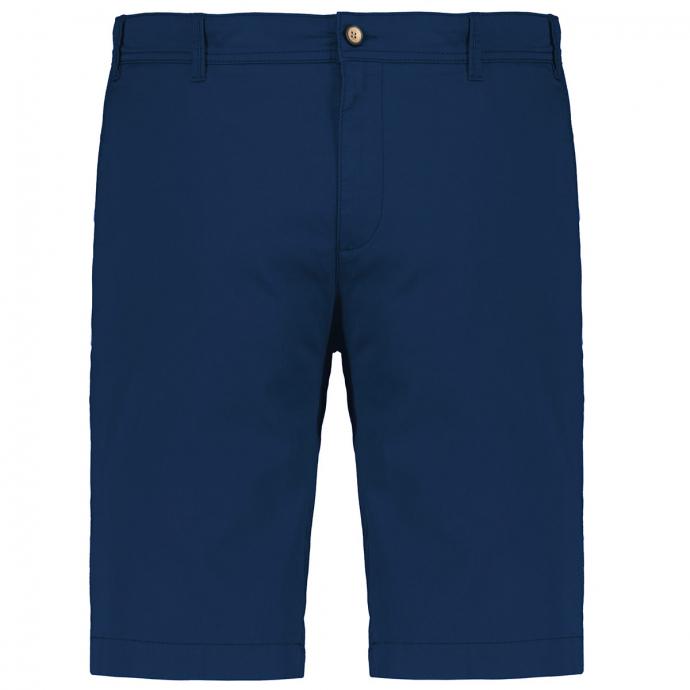 Chino-Short mit Stretchanteil blau_22   31