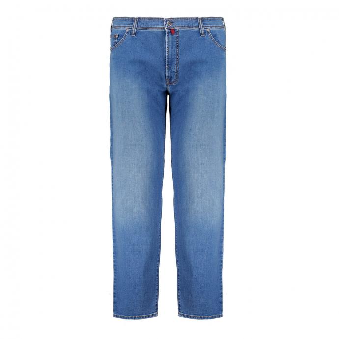 Klassische 5-Pocket-Jeans mit Stretch blau_01   58