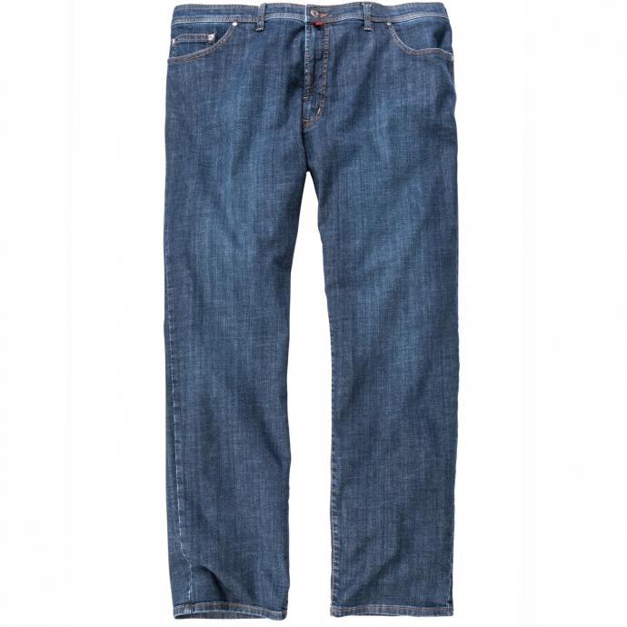 Klassische 5-Pocket-Jeans mit Stretch dunkelblau_07 | 58