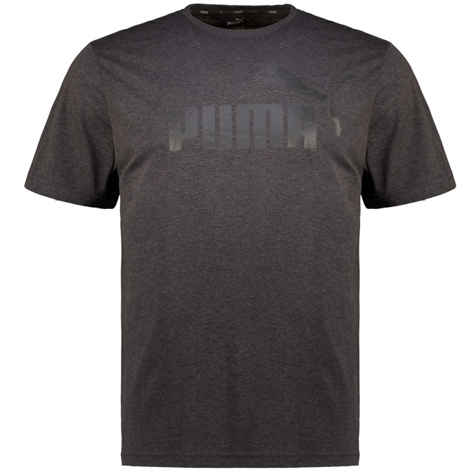 T-Shirt mit Label-Print anthrazit_0007   3XL
