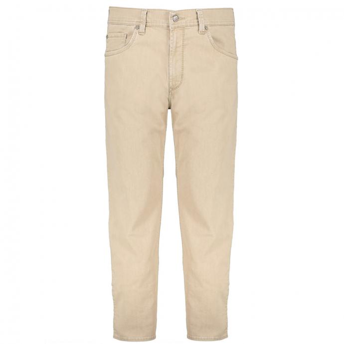 Jeans in Megaflex-Qualität mit spezieller Färbung beige_05 | 28