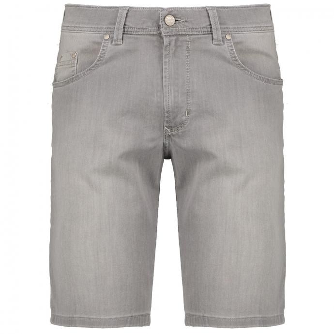 5-Pocket Jeansshort mit Stretch grau_14/30 | 50