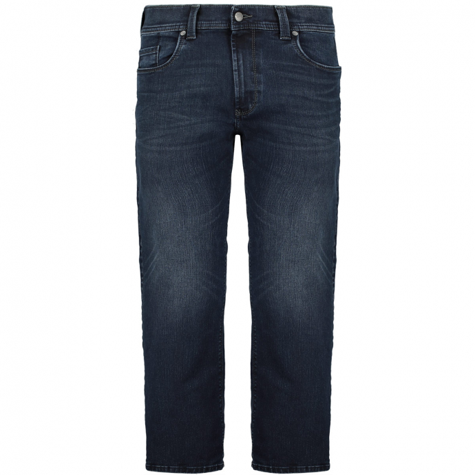 Five-Pocket-Jeans in Megaflex-Qualität dunkelblau_440   29