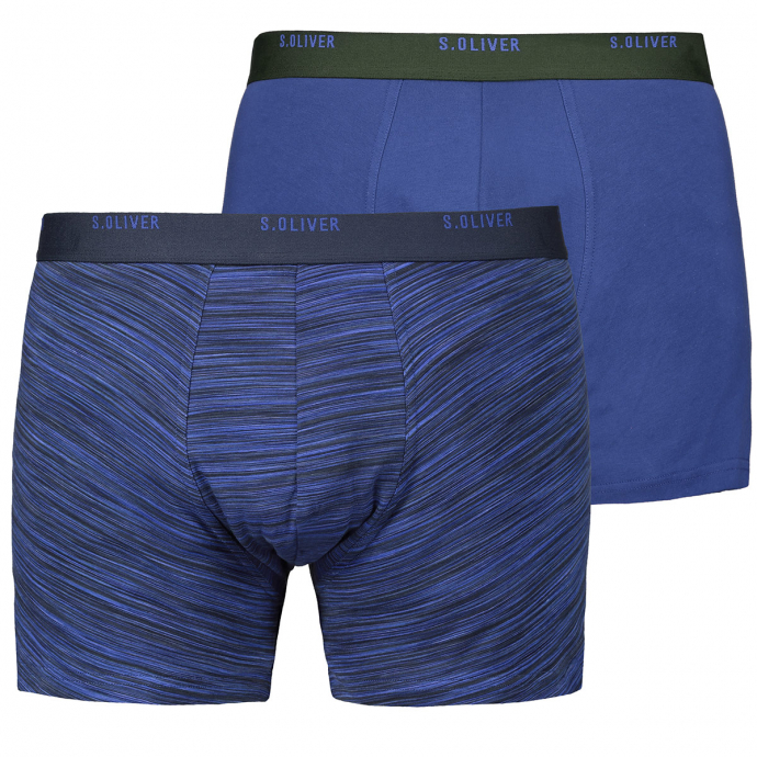 2er Pack Pants mit Logo-Print marine_59W0 | 3XL