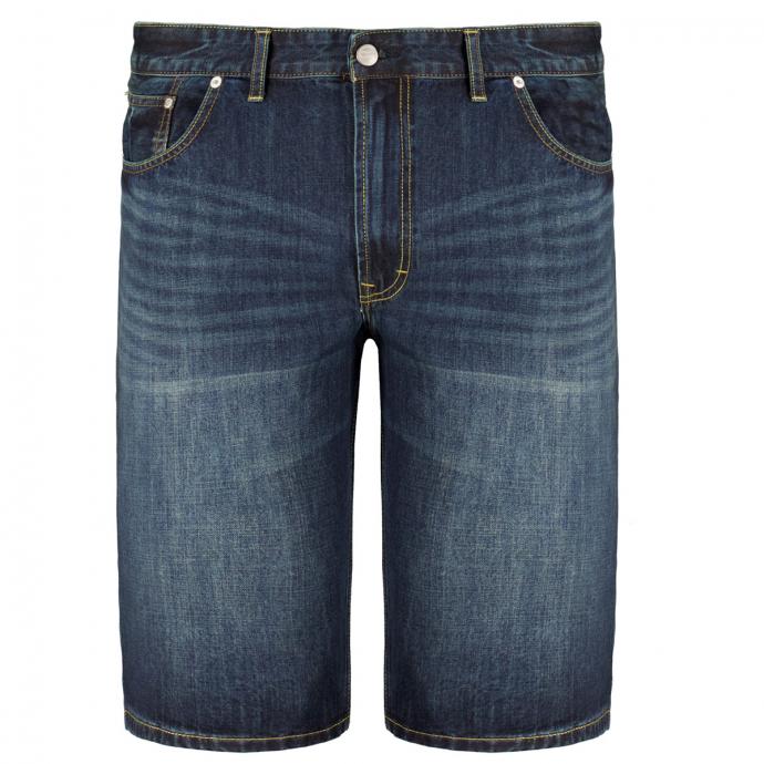 Jeansshort in 5-Pocket Form blau_0597   W46