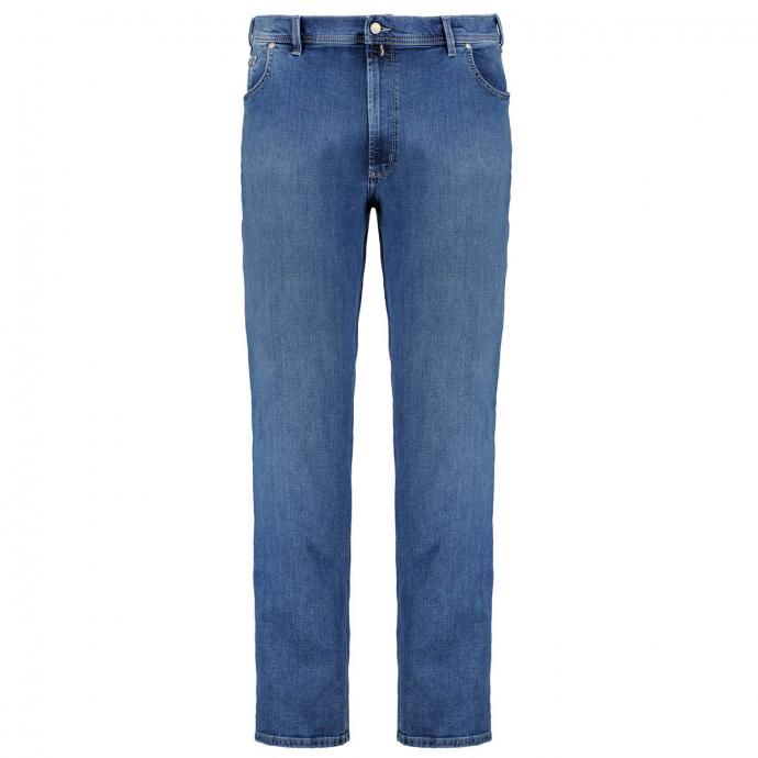 "Megaflex-Jeans ""Peter"" jeansblau_06   31"