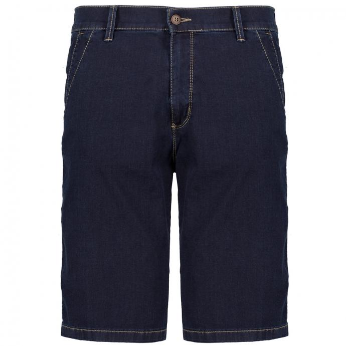 Ultraleichte Jeansshort mit Megaflex dunkelblau_02/04 | 28
