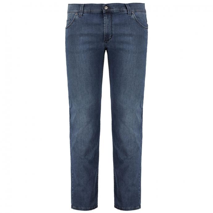 "Leichte Megaflex-Jeans ""Thomas"" mittelblau_14 | 28"