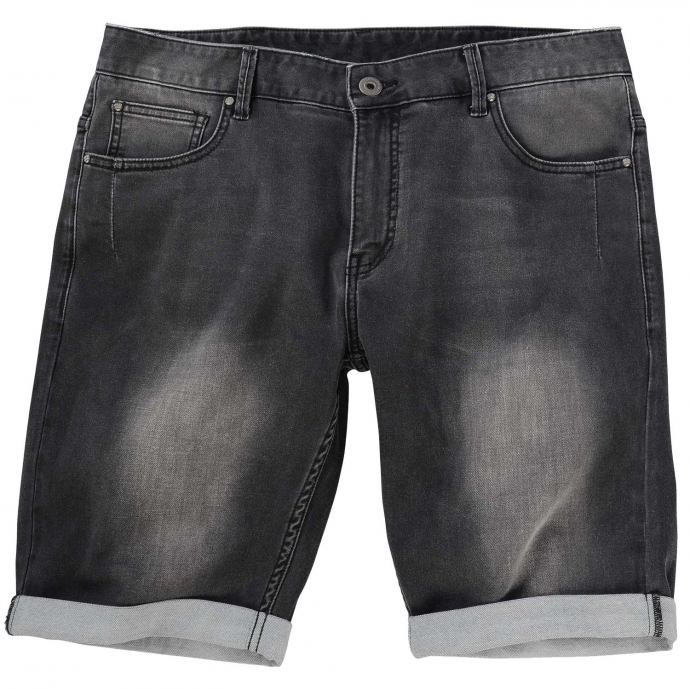 Coole Jeans-Short im 5-Pocket-Style schwarz_097 | W46