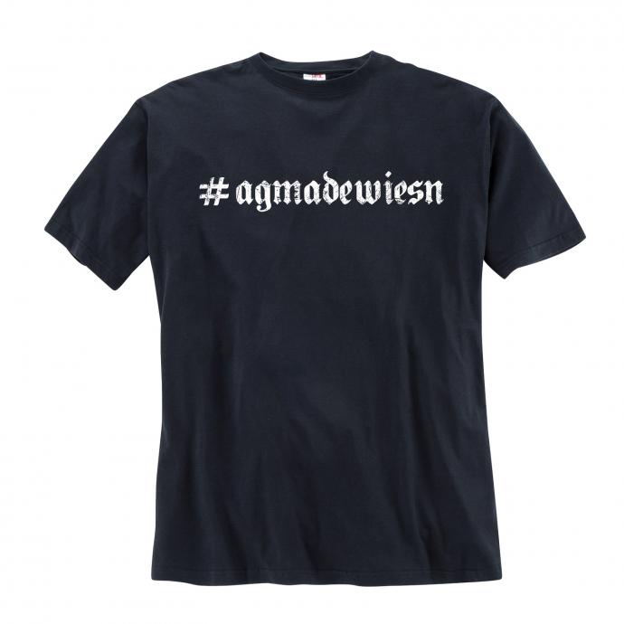 T-Shirt #agmadewiesn blau_40 | 8XL