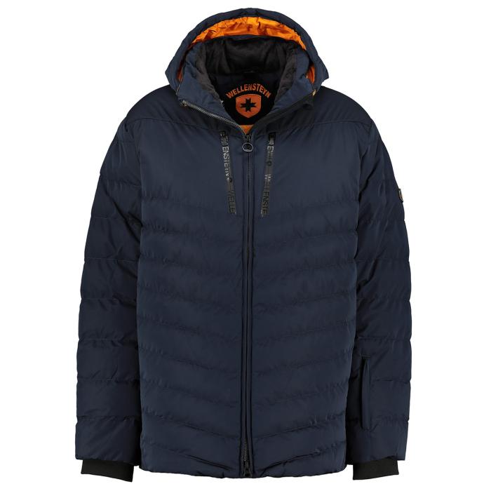 Funktionelle Jacke mit nachhaltiger, veganer Wattierung blau_MDB | 3XL
