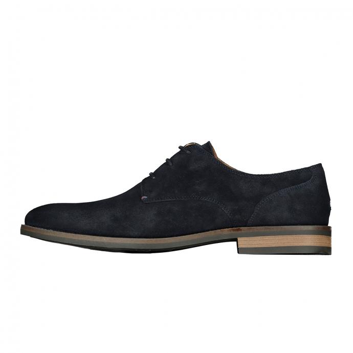 """Business-Schuh """"Essential"""" aus Wildleder dunkelblau_403   44"""