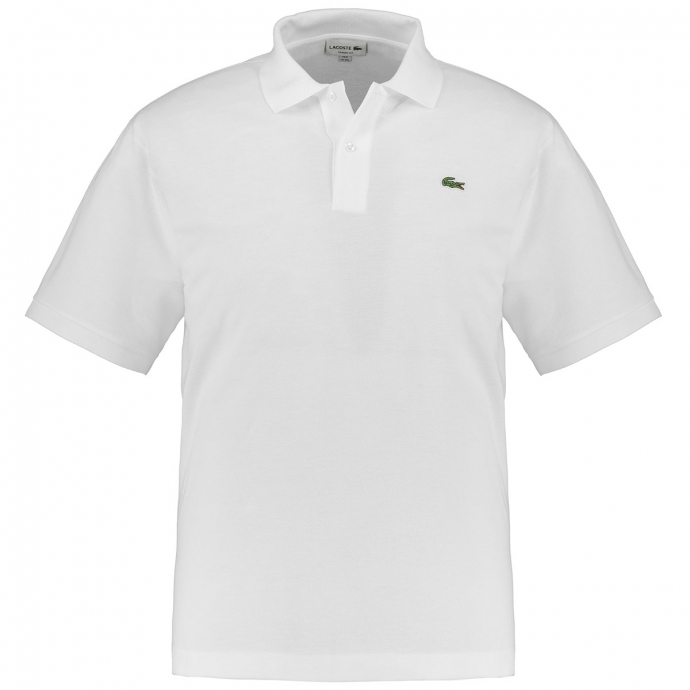 Sportives Polohemd aus hochwertigem Baumwoll-Piqué weiß_001 | 6XL