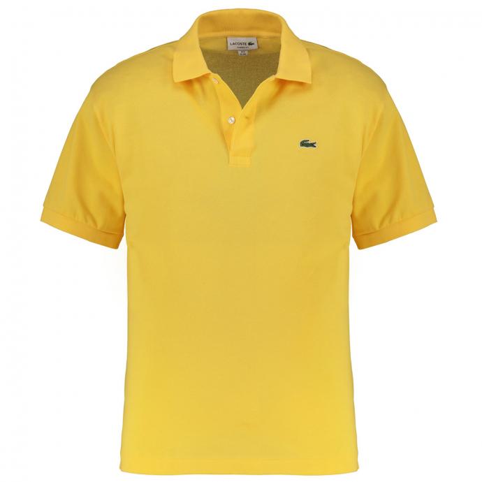 Sportives Polohemd aus hochwertigem Baumwoll-Piqué gelb_Z0A | 3XL