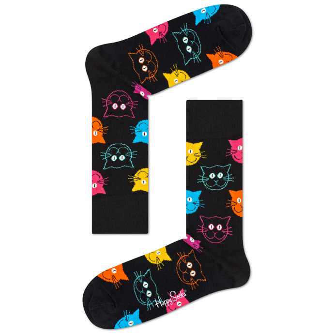 "Socke ""Cat"" schwarz_9001 | 41-46"