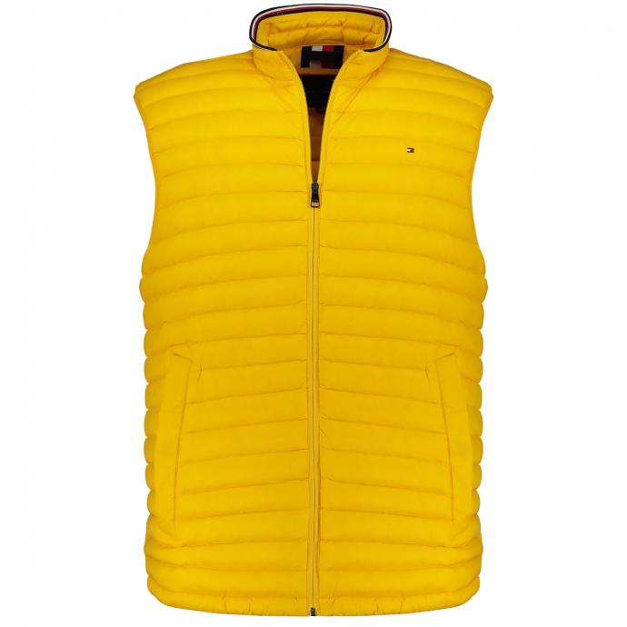 Extra leichte Steppweste mit Pack-Away-Tasche gelb_ZFX | 4XL