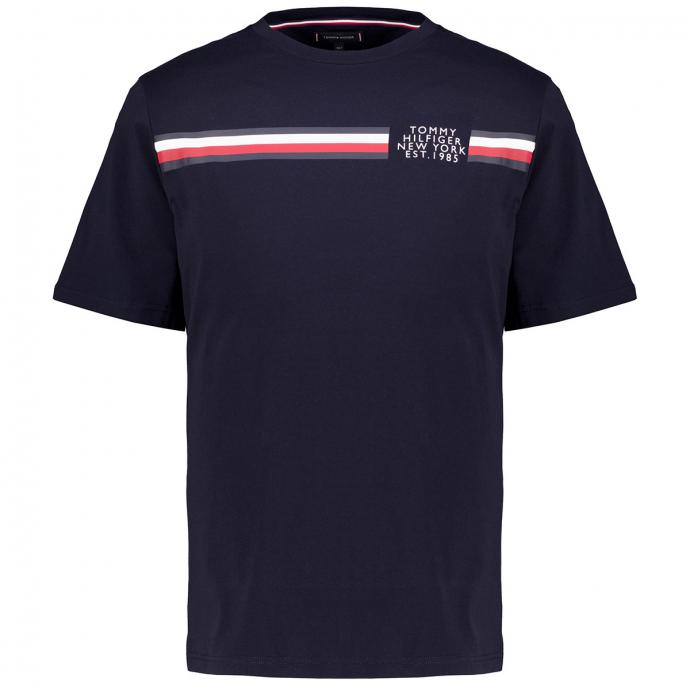 T-Shirt aus Bio-Baumwolle mit Print marine_DW5 | 3XL