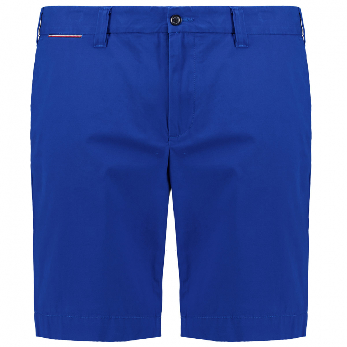 "Short ""Brooklyn"" aus leichtem Bio-Baumwolltwill blau_D02 | W44"