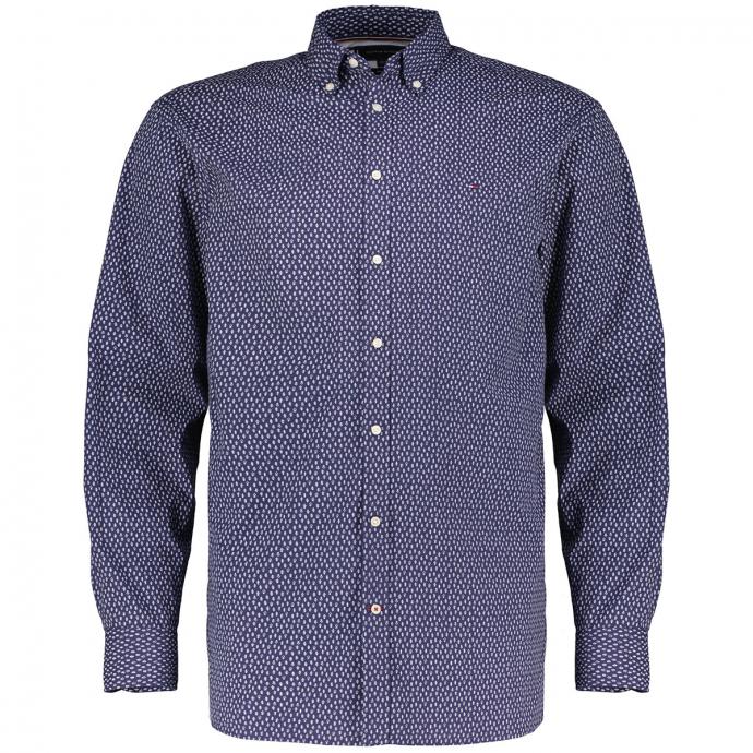 Freizeithemd aus Biobaumwolle blau_0GY   3XL