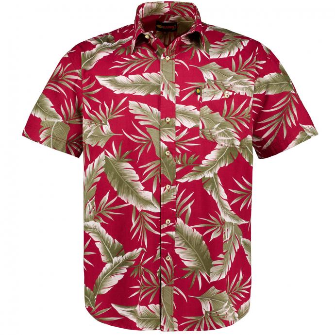 Hawaii-Hemd, kurzarm weinrot_WEINROT | 3XL