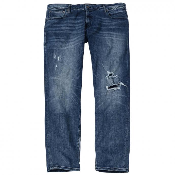 Super bequeme Stretch-Jeans im Used-Look jeansblau_BLUEDENIM | 48/34