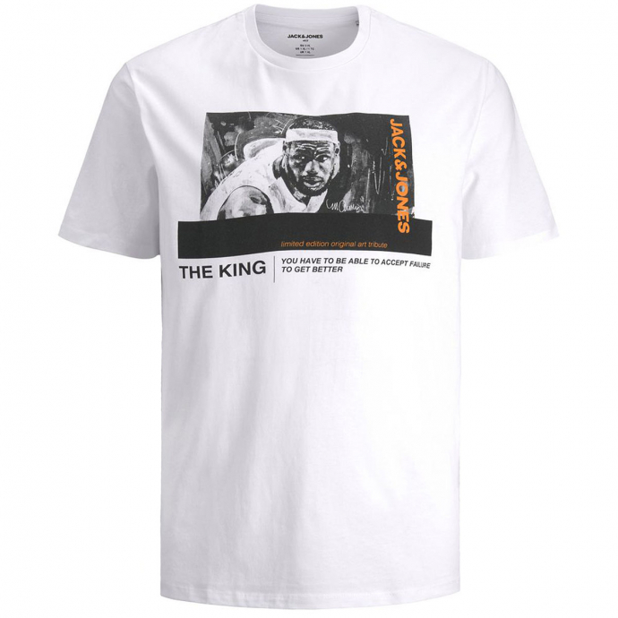 "T-Shirt mit Foto-Print ""LeBron"" weiß_WHITE | 3XL"