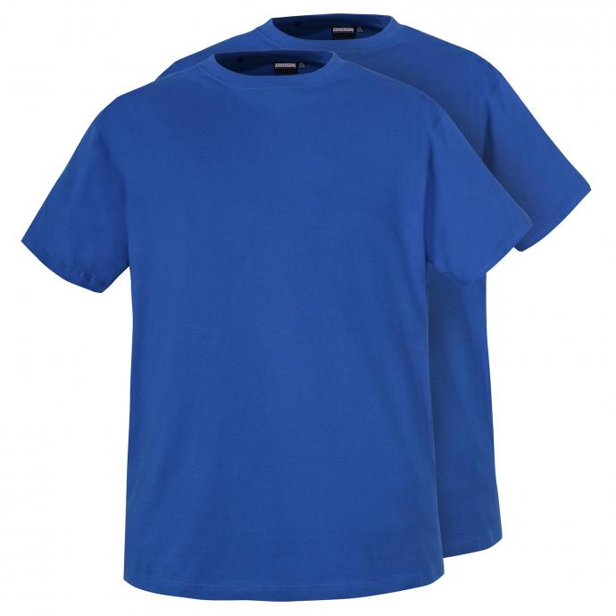 T-Shirts im Doppelpack mit Rundhalsausschnitt blau_340 | 3XL