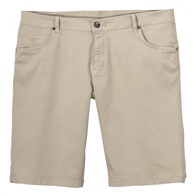 Bequeme Stretch-Short im 5-Pocket-Style beige_303 | W46