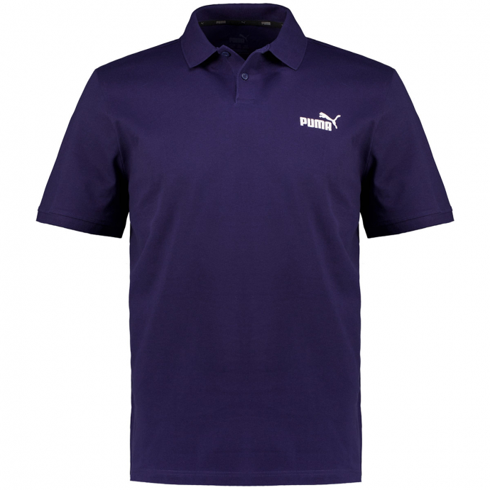 Stretch-Poloshirt mit Stickelement, kurzarm marine_0006   5XL