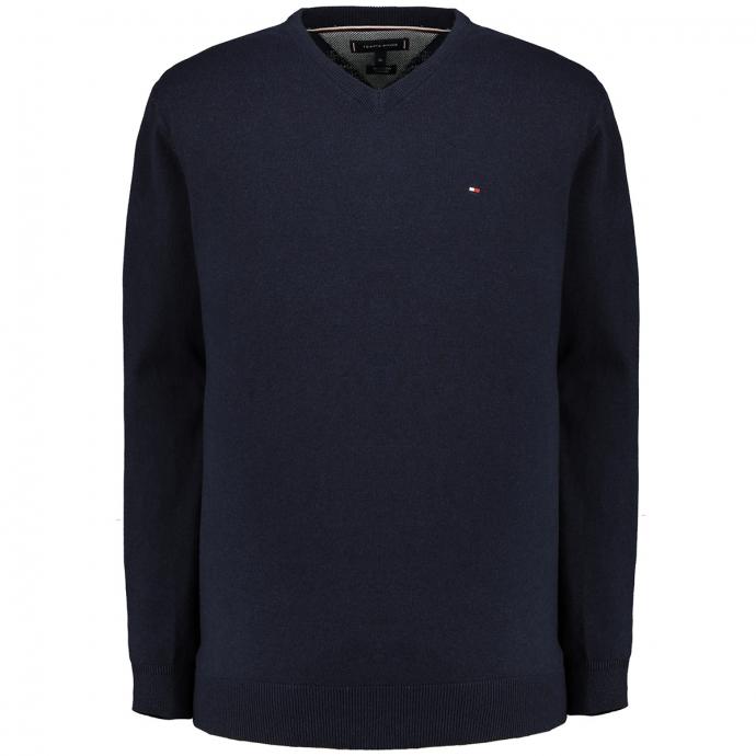 Pullover mit Cashmereanteil dunkelblau_DV6   3XL