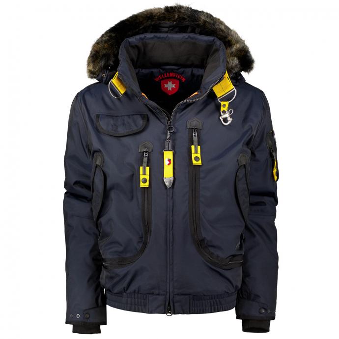 "Trendiger Funktions-Winterblouson ""Rescue Jacket"" blau_MDB | 4XL"