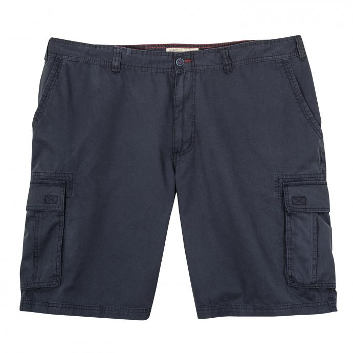 Bequeme Cargoshort im lässigem Style dunkelblau_0800 | 62