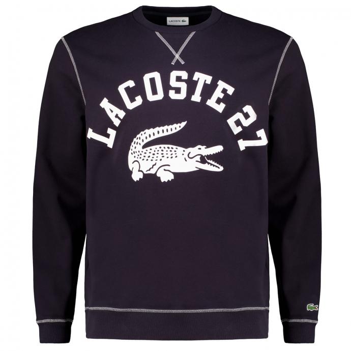 Sweatshirt mit Logo-Print dunkelblau_HDE | 3XL